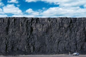 wall of coal